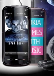Nokia 5800 Star Trek готовит фанатов к выходу фильма