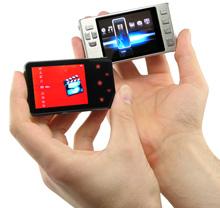 Цифровой видеопроигрыватель размером с кредитную карту