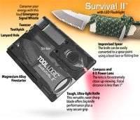 Набор для выживания Survival Credit Card Tool