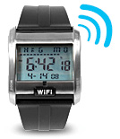 Wi-Fi-часы помогут найти сигнал