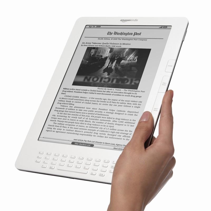 Kindle DX или Размер имеет значение
