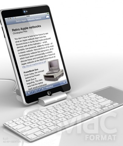 Apple Media Pad - MID от Apple?