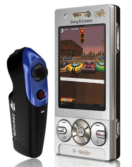 Sony Ericsson W705 – новое игровое предложение от T-Mobile