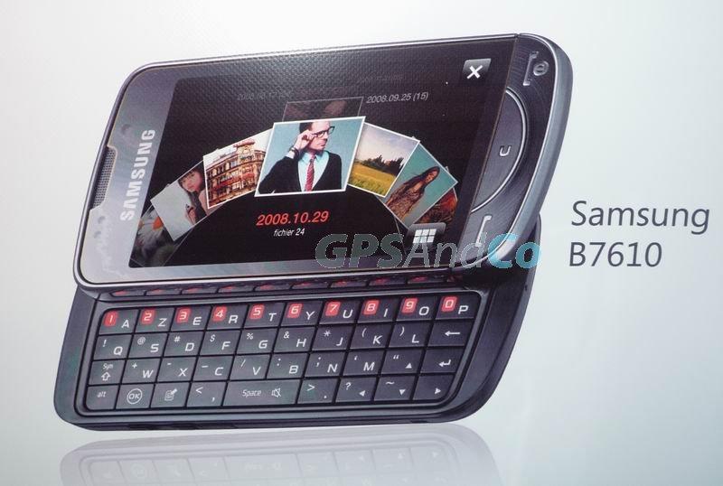 Samsung B7610 Louvre   слайдер с клавиатурой  QWERTY и огромным экраном