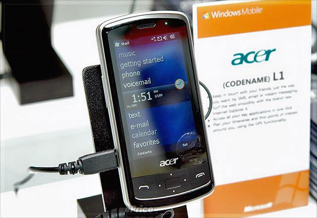 Сверхмощный Acer F1, а также L1 и C1: Acer выходит на рынок смартфонов