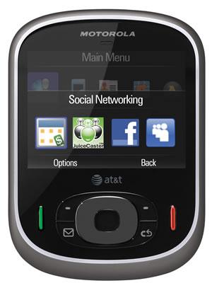 AT&T и Motorola представляют слайдер Motorola Karma QA1
