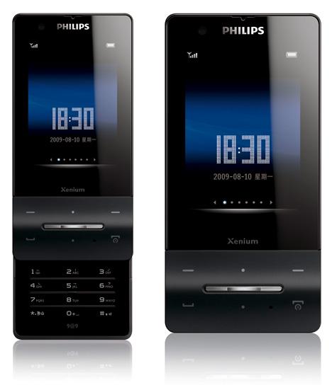 Philips Xenium X810 - отличная работа дизайнеров