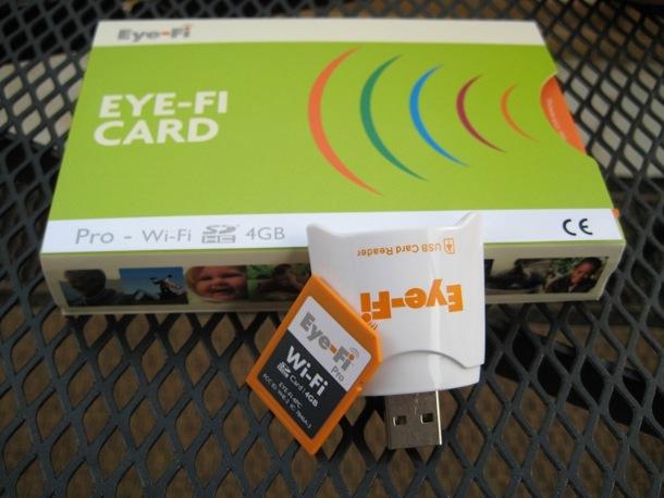 Eye-Fi Pro - карта памяти с Wi-Fi