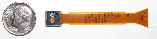 Самый маленький VGA дисплей в мире
