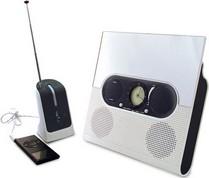 Беспроводная аудиосистема для душа