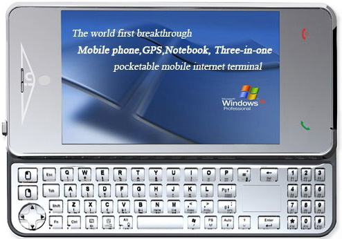 xpPhone – телефон с ОС Windows XP