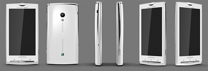 Особенный телефон Sony Ericsson Rachael