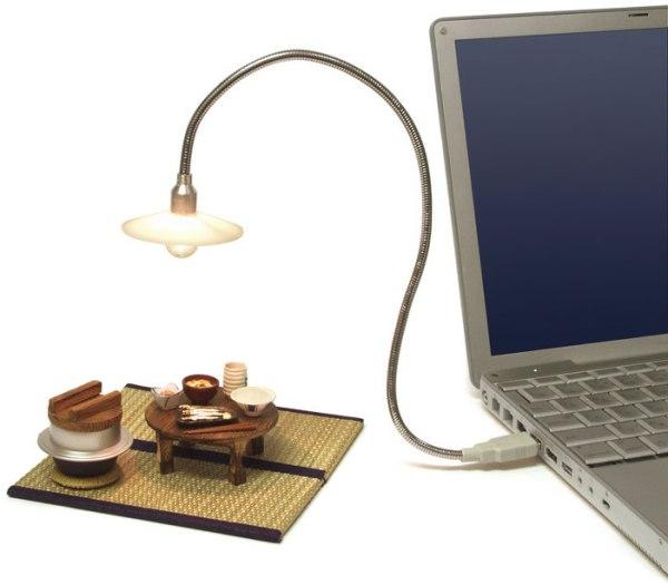 Первая в мире USB-лампа накаливания