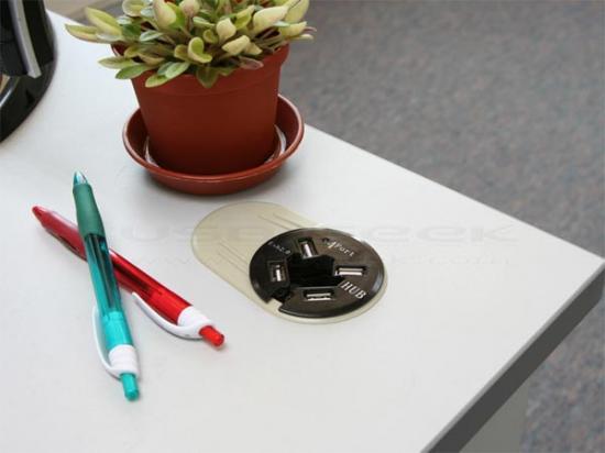 USB-хаб в столе