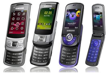 Samsung анонсировал еще четыре телефона