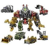 Супертрансформер Constructicon Devastator