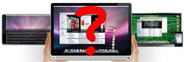 Планшет или нетбук от Apple в октябре?