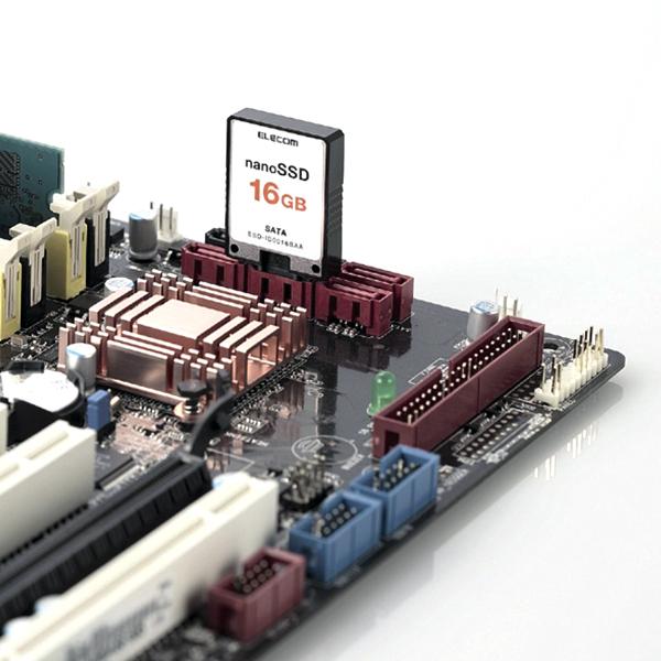 Elecom  выпускает новые nanoSSD и SSD
