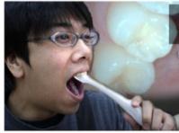 Камера-микроскоп для любителей ковырять в зубах