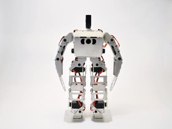 Самые маленькие человекообразные роботы