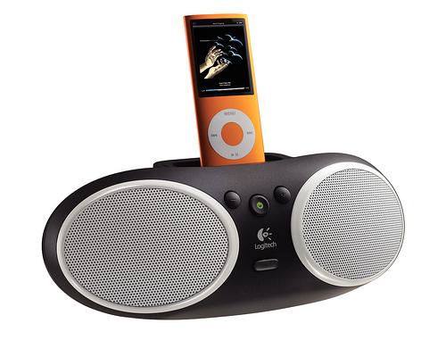 Logitech представляет две новых акустических системы для iPod