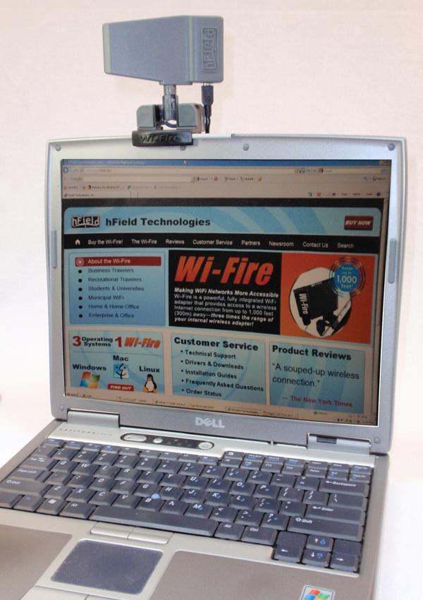 Третье поколение усилителя hField Wi-Fire
