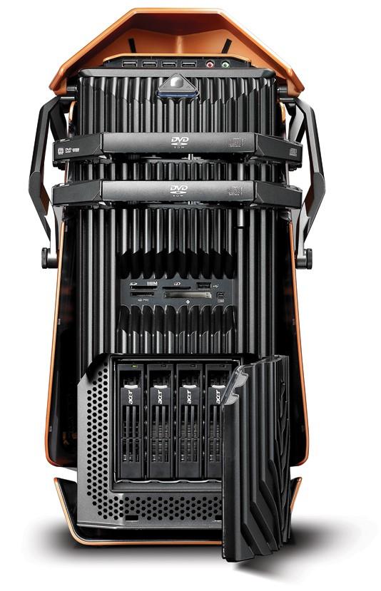 Такой оранжевый и такой мощный Acer Aspire G Predator