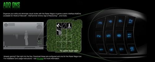 17-кнопочная мышь Razer Naga