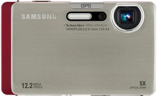Цифровая камера Samsung CL65 с WiFi, Bluetooth и GPS