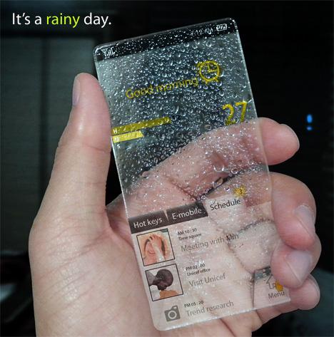 Концепт Window Phone: метеорологическая станция в вашем кармане