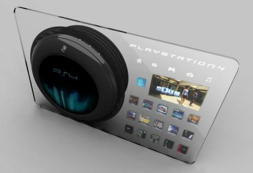Потрясающий концептуальный дизайн игровой приставки PlayStation 4