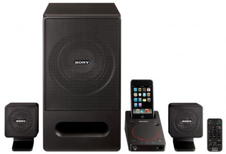 Аудиостанция для iPhone и iPod от Sony