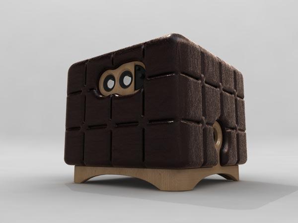 Музыкальный пуфик Music Chocolate