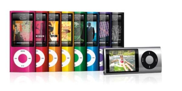iPod nano получил видеокамеру