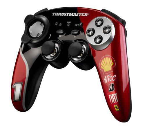 Геймпад с дизайном Ferrari от Thrustmaster