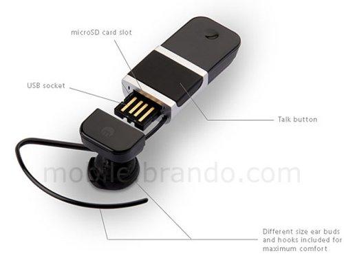Bluetooth-гарнитура и microSD кард-ридер в одном устройстве