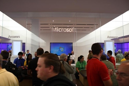 Открытие магазина Microsoft