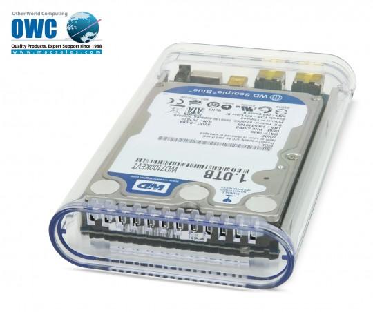 OWC представляет новый портативный жесткий диск объемом 1 Тб