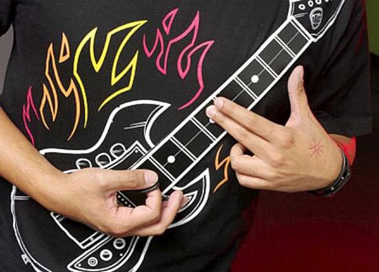 Rock Guitar Shirt - футболка для истинных гитаристов