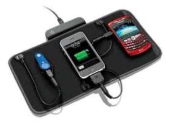 Портативное зарядное устройство для нескольких гаджетов Charging Valet