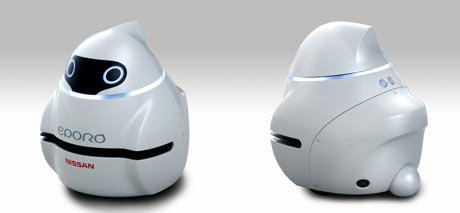 Новый усовершенствованный робокар Eporo от Nissan
