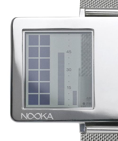 Nooka Zaz  с прозрачным LCD-дисплеем