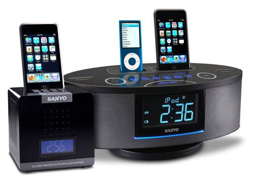 Новые док-станции для iPhone от Sanyo