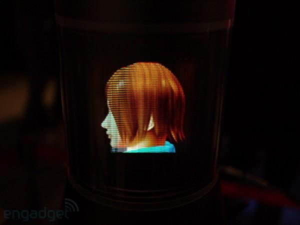 Фото и видео 3D-дисплея Sony