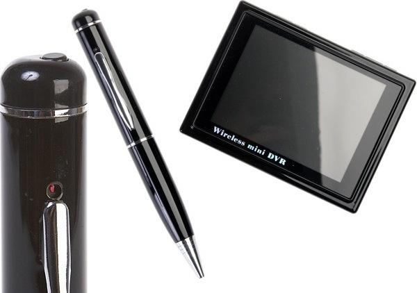 Шпионская ручка и портативный медиаплеер
