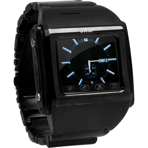 Высокотехнологичные часы sWaP Mobile Phone Watch