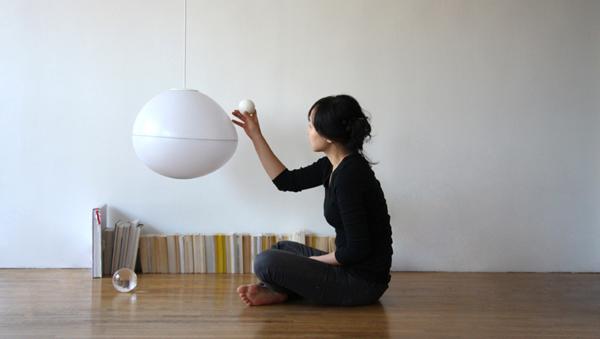 Необычная лампа для дома