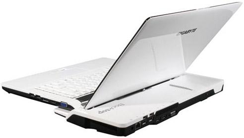 Новый сверхпортативный ноутбук Gigabyte Booktop M1305