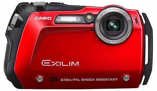 Компактная ударопрочная и водонепроницаемая камера Casio EX-G1