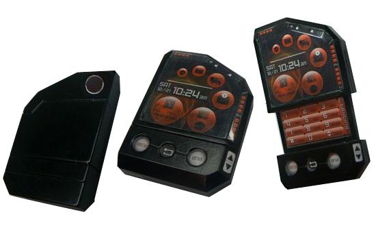 Nokia M31- концепт телефона с двумя сенсорными экранами